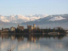 Rapperswil Castle, Switzerland Passport, Switzerland, Places Ive Been, Destinations, Castle, Polish, Artists, Mountains, Classic