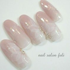 Hot Trendy Nail Art Designs that You Will Love Elegant Nail Art, Trendy Nail Art, Gel Nail Designs, Cute Nail Designs, Bridal Nails Designs, Hot Nails, Pink Nails, Fancy Nails, Fabulous Nails