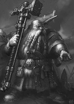 9b.jpg - Warhammer Dwarf Artwork - Gallery - Bugmans Brewery - The Home for all Warhammer Dwarf Fans