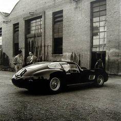 4.5 Coupe, Maserati Factory, Modena, 1958