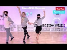 Cha Cha Open Gold Choreography - Private ballroom dance lessons at Beverly Hills Dance Studio in LA - YouTube