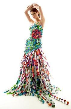 Lia Griffith | wearable art | Papier Couture
