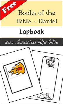 Homeschool Helper Online's Bible: Book of Daniel Lapbook