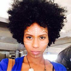 Beauty!  @beauty_skindeep #naturalhair #naturalhairdaily #naturalhaircommunity #curlygirl #curlyhair #instadaily