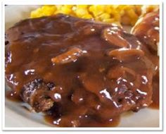 Extraordinary Life: Paleo Salisbury Steak with Mushroom Gravy