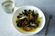 Mussels with Spices, Ginger, Lemongrass and Coriander Recipe on Yummly