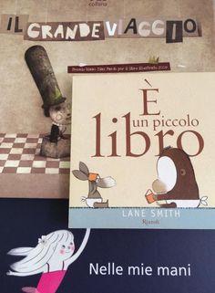 #titolibriamo di Michela Natale Sellitto e Arturo Montieri - Il grande viaggio - è un piccolo libro - nelle mie mani