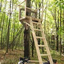 Wood Ladder Deer Stand Plans Deer Stand Ladder Deer Stands Deer Stand Plans