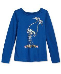 c707d819 DreamWorks Trolls Poppy Long-Sleeve Graphic T-Shirt, Toddler Girls (2T-6X)  & Reviews - Shirts & Tees - Kids - Macy's