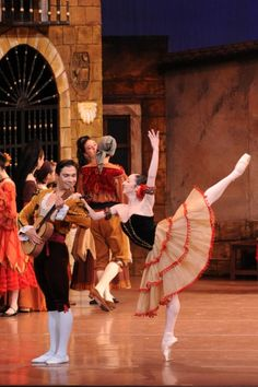 Don Quixote with the National Ballet of Mexico. via http://newsmix.me