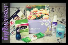 Influenster Bloom VoxBox - Unboxing  #BloomVoxBox @Influenster #gotitfree #SoCutex  #HealthyNails #Plump4Joy #NuxeUS #NuxeAtULTA #SunbeltBakery #OutLastXtend #SCKJDenim #SinfulColors
