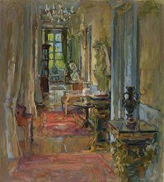 Susan Ryder Sunlit Corridor, Le Mairy
