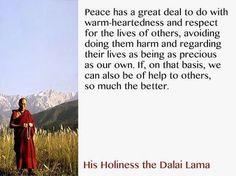 Dalai Lama - Peace.