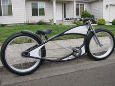 Rat rod custom bike