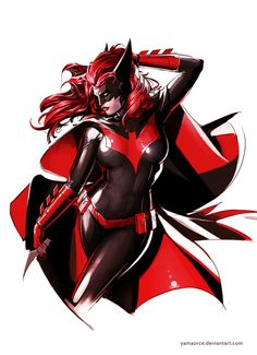 Batwoman par http://yamaorce.deviantart.com/