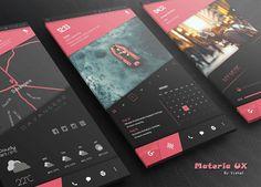 Materia UX for KLWP Mobile App Design, Mobile Ui, Ui Ux Design, Site Design, Phone Themes, Nova Launcher, App Ui, Live Wallpapers, Material Design