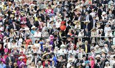 Crowd at Royal Ascot