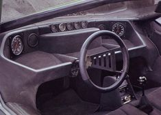 1968 Alfa Romeo Carabo by Bertone – Interior
