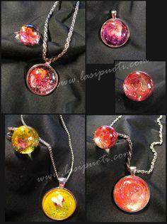 Jewels. Glass beads