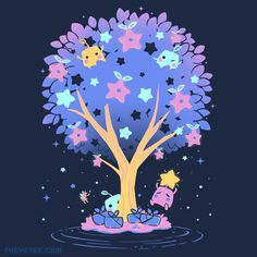 Stardrop Harvest By miski at The Yetee!  Super excited!! I got my tee today! <3
