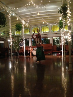 Polynesian dancers for and island themed party