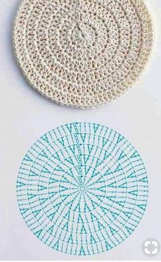 Crochet designs crocheting farmhouse rugs hamper squares trapillo crochet how to left handed granny square tutorial allfreecrochet com crochet granny lefthanded square Crochet Diagram, Crochet Chart, Crochet Motif, Crochet Designs, Crochet Doilies, Crochet Stitches Patterns, Knitting Patterns, Crochet Circle Pattern, Crochet Coaster