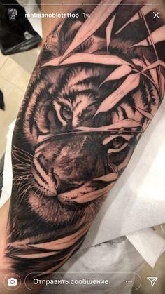 Mens Tiger Tattoo, Tiger Tattoo Sleeve, Wing Tattoo Men, Lion Tattoo Sleeves, Tiger Tattoo Design, Tattoo Design Drawings, Sleeve Tattoos For Women, Grey Tattoo, Ankle Tattoo