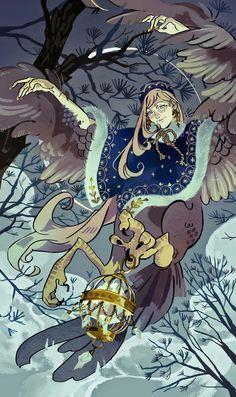 Harpy Roo, an art print by Basil Blah - INPRNT nice fantasy art Art And Illustration, Illustrations, Fantasy Character Design, Character Design Inspiration, Character Art, Kunst Inspo, Art Inspo, Fantasy Kunst, Fantasy Art