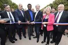 La 36e édition du Livre sur la Place inaugurée par le président Dany Laferrière et le Maire de nancy, Laurent Hénart.