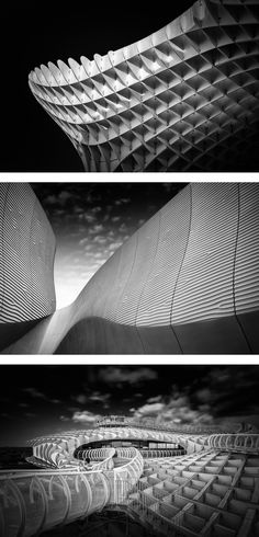 Photographer Alessio Forlano also works as an architect, which greatly informs his artistic, black and white architecture photography.