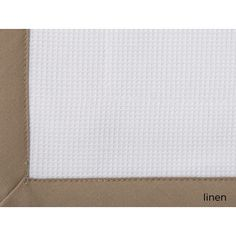 Peacock Alley Pique Tailored Sham Color: Linen, Size: King