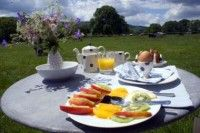 Delicious Breakfast at Willow Barns, Midhurst, Petworth, West Sussex, England