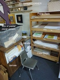 Painting My World: Studio Tour...How I Store my Pastel Paper