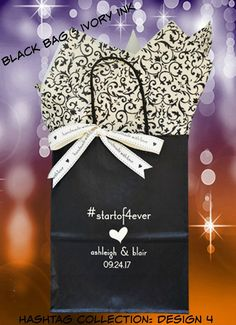 25 Wedding Welcome Bags for the contemporary couple. Welcome your wedding guests with a personalized gift bag that is uniquely you!