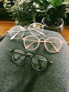 fbc3f036c1c Kawaii Circle Glasses - Rebel Style Shop - Look cute and smart at the same  time with this fashion eyewear. Choose among three frame colors - clear