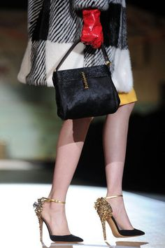 Milan Fashion Week Fall 2012 Shoes and Bags Photo 1.     Classy!