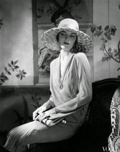 Photographed by Edward Steichen, 1928. vintage everyday: Beautiful Fashion of the 1920s