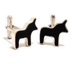 dala horse cuff links. boticca