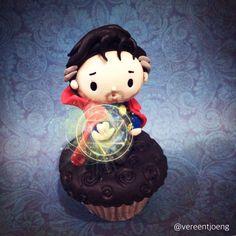 cumbermuffin @vereentjoeng 30 Dec 2015 Cumbercupcake: B as Doctor Strange!!! #BenedictCumberbatch #DoctorStrange