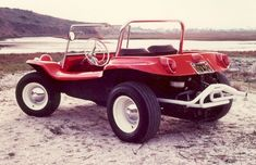Old Red, the first Meyers Manx dune buggy, to go on National Historic Vehicle Regis   Hemmings Daily