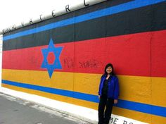 East Side Gallery, Berlin Wall, Berlin, Germany.
