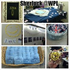 Sherlock Holmes party at the Westerville Library on December 30, 2013. #sherlock #party