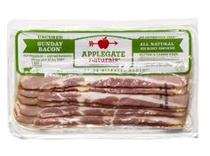 Look beyond breakfast: We add bacon to green salads, sandwiches, even the occasional dinner frittata. Plain and simple, Applegate Farms Sunday Bacon lapped the competition. It fries up crisp and meaty and tastes like true bacon—not just salt and smoke. Bonus: This particular type is nitrate-free.