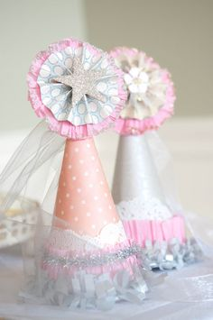 Tea Party Birthday Hat