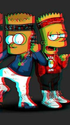 Тим Supreme Iphone Wallpaper, Simpson Wallpaper Iphone, Cartoon Wallpaper Iphone, Bape Wallpaper Iphone, Iphone Backgrounds, Deadpool Wallpaper, Glitch Wallpaper, Graffiti Wallpaper, Simpsons Drawings