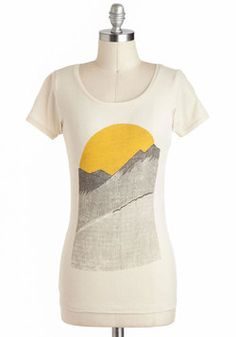 Alpine Shine Tee, #ModCloth too cute