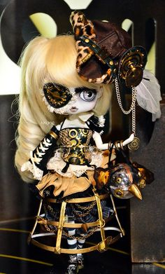 steampunk doll that i want so badly!