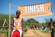 The Amazing Maasai Marathon & Half-Marathon is a unique community run in Kimanjo, Kenya. Join the Maasai for a race in the foothills of Mt. School Scholarship, Ultra Marathon, Kenya, Community Events, Secondary School, Racing, Fitness, Life, Middle School
