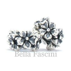 Amazon.com: Bella Fascini Flower Band - Solid 925 Sterling Silver European Spacer Bead Charm - Compatible Brand Bracelets : Authentic Pandora, Chamilia, Moress, Troll, Ohm, Zable, Biagi, Kay's Charmed Memories, Kohl's, Persona & more!: Bella Fascini: Jewelry