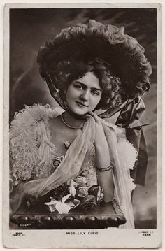 A blog dedicated to my favorite Edwardian actress Lily Elsie, I'll post her postcards and any...